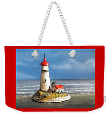 Miniature Lighthouse Weekender Tote Bag
