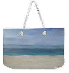Weekender Tote Bag featuring the photograph Minimal Beach by Andrea Anderegg