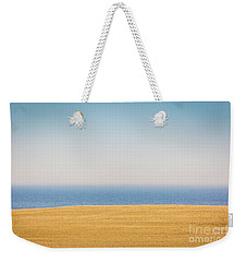 Minimal Lake Ontario Weekender Tote Bag