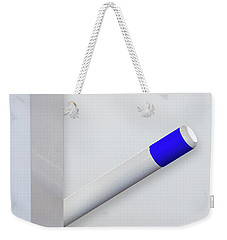 Weekender Tote Bag featuring the photograph Minimal by Paul Wear