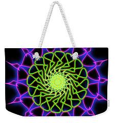 Minimal Trance Weekender Tote Bag