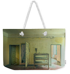 Weekender Tote Bag featuring the photograph Minimalist Atmosphere IIi - Atmosfera Minimalista IIi by Enrico Pelos