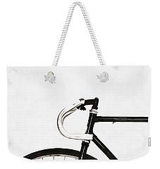 Minimalist Bicycle Painting Weekender Tote Bag