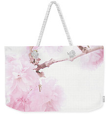 Minimalist Cherry Blossoms Weekender Tote Bag