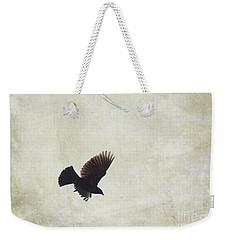 Minimalistic Bird In Flight  Weekender Tote Bag by Aimelle