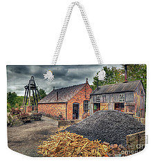 Weekender Tote Bag featuring the photograph Mining Village by Adrian Evans