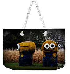 Minions 2 Weekender Tote Bag by Kelly Awad
