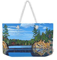 Mink Lake Gap Weekender Tote Bag