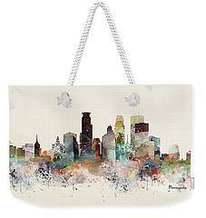 Minneapolis Minnesota Weekender Tote Bag