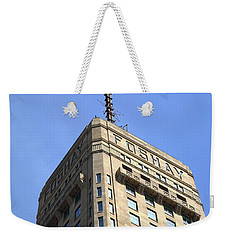 Weekender Tote Bag featuring the photograph Minneapolis Tower 6 by Frank Romeo