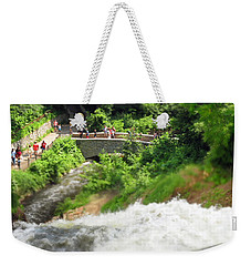 Minnehaha Falls From Above Weekender Tote Bag