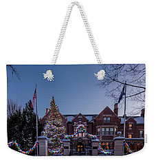 Christmas Lights Series #6 - Minnesota Governor's Mansion Weekender Tote Bag