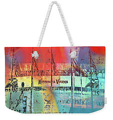Weekender Tote Bag featuring the photograph Minnesota Vikings Art by Susan Stone