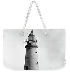 Weekender Tote Bag featuring the photograph Minot's Ledge Lighthouse, Boston, Mass Vintage by Vintage
