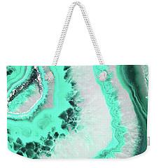 Mint Agate Weekender Tote Bag