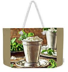 Mint Julep Double Weekender Tote Bag