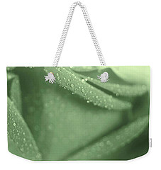 Weekender Tote Bag featuring the photograph Mint Love by The Art Of Marilyn Ridoutt-Greene