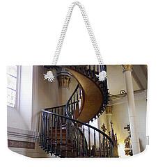 Weekender Tote Bag featuring the photograph Miraculous Stairs by Kurt Van Wagner