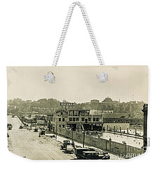 Weekender Tote Bag featuring the photograph Miramar Pool, 1927 by Cole Thompson