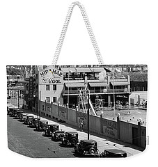 Weekender Tote Bag featuring the photograph Miramar Saltwater Pool by Cole Thompson