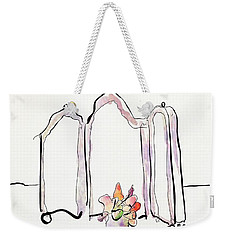 Sketch Mirror Weekender Tote Bag