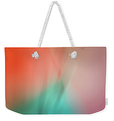 Weekender Tote Bag featuring the photograph Mirror Image by Christi Kraft