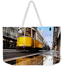 Mirror Weekender Tote Bag by Jorge Maia