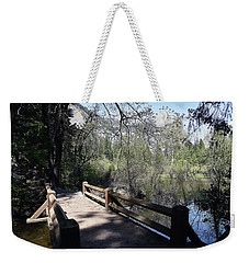 Mirror Lake At Yosemite National Park Weekender Tote Bag