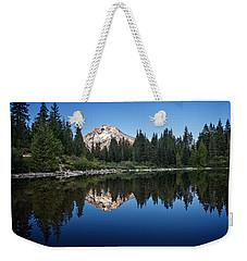Mirror Lake Weekender Tote Bag by Ian Good
