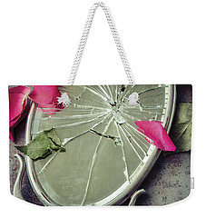 Weekender Tote Bag featuring the photograph Mirror, Mirror... by Amy Weiss