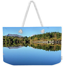 Weekender Tote Bag featuring the photograph Mirror, Mirror by Geoff Smith