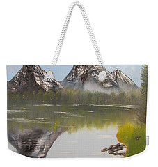 Mirror Mountain Weekender Tote Bag