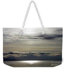 Mirror Sunset Landscape Weekender Tote Bag