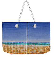 Mirror Twin Beaches Weekender Tote Bag