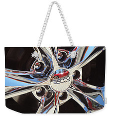 Mirror Wheel Weekender Tote Bag