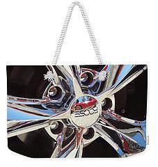 Mirror Wheel Weekender Tote Bag