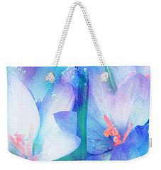 Weekender Tote Bag featuring the digital art Mirthfulness by Klara Acel