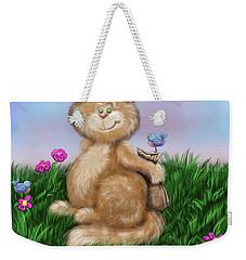 Mischief Weekender Tote Bag by Dani Abbott