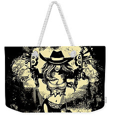 Miss Fortune - Vintage Comic Line Art Style Weekender Tote Bag