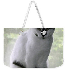 Miss Jerrie Cat With Watercolor Effect Weekender Tote Bag