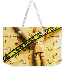 Missing Piece Of The Puzzle Weekender Tote Bag