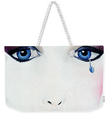 Missing You Weekender Tote Bag by Mayhem Mediums