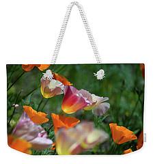Mission Bell Poppies Weekender Tote Bag