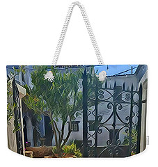 Mission Courtyard Weekender Tote Bag