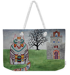 Mission Espada Cat Weekender Tote Bag