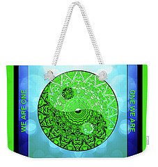 Mission Piece 1a     I Call 2 U Weekender Tote Bag