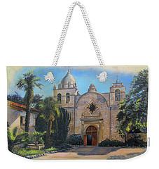 Mission San Carlos In Carmel By The Sea Weekender Tote Bag