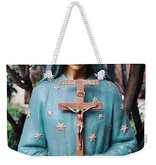 Weekender Tote Bag featuring the photograph Mission San Fernando Rey De Espana by Kyle Hanson
