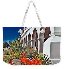 Mission San Luis Rey Garden Weekender Tote Bag