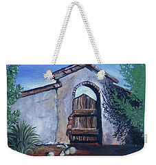 Rustic Charm Weekender Tote Bag by Mary Ellen Frazee